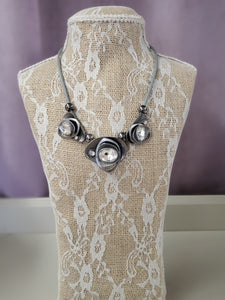 Modern Twist in Pewter and Crystal in Shipshewana - You-nique Bou-tique