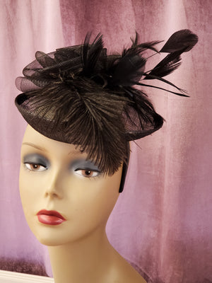 2 Color Ways - Fascinators - You-nique Bou-tique