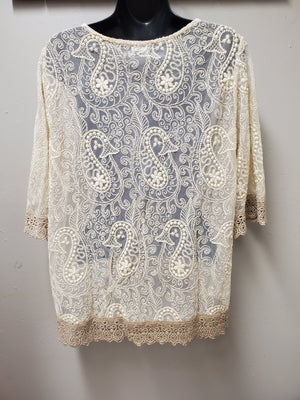 Beautifully Detailed Lace Jacket - You-nique Bou-tique