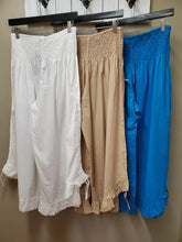 5 Color Ways - One Size Super Cute Basic Cotton Pant with Adjustable Gathered Side Hem - You-nique Bou-tique