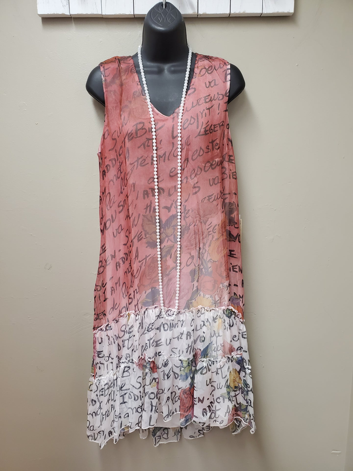 2 Color Ways- Sophisticated Dress with Fun Print in Shipshewana - You-nique Bou-tique