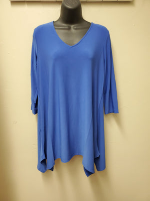BEST SELLER COLORS - Flattering Fit & Flair Tunic with 3/4 Sleeve - You-nique Bou-tique
