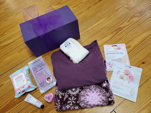 Self Care Bundle Box Featuring our Best Selling  Butter Soft Lounge Pant & Coordinating Comfy Tee - You-nique Bou-tique