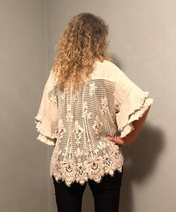 2 Color Ways - Check Out the Back on this Cute & Unique Top in Swanton - You-nique Bou-tique