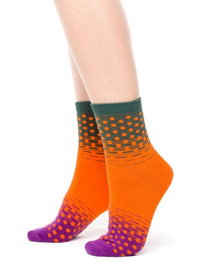 3-Pack of Women's Fun Fashion Quarter Crew Socks - You-nique Bou-tique