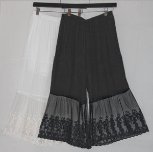 Split Skirt - Wide Leg Gaucho - You-nique Bou-tique