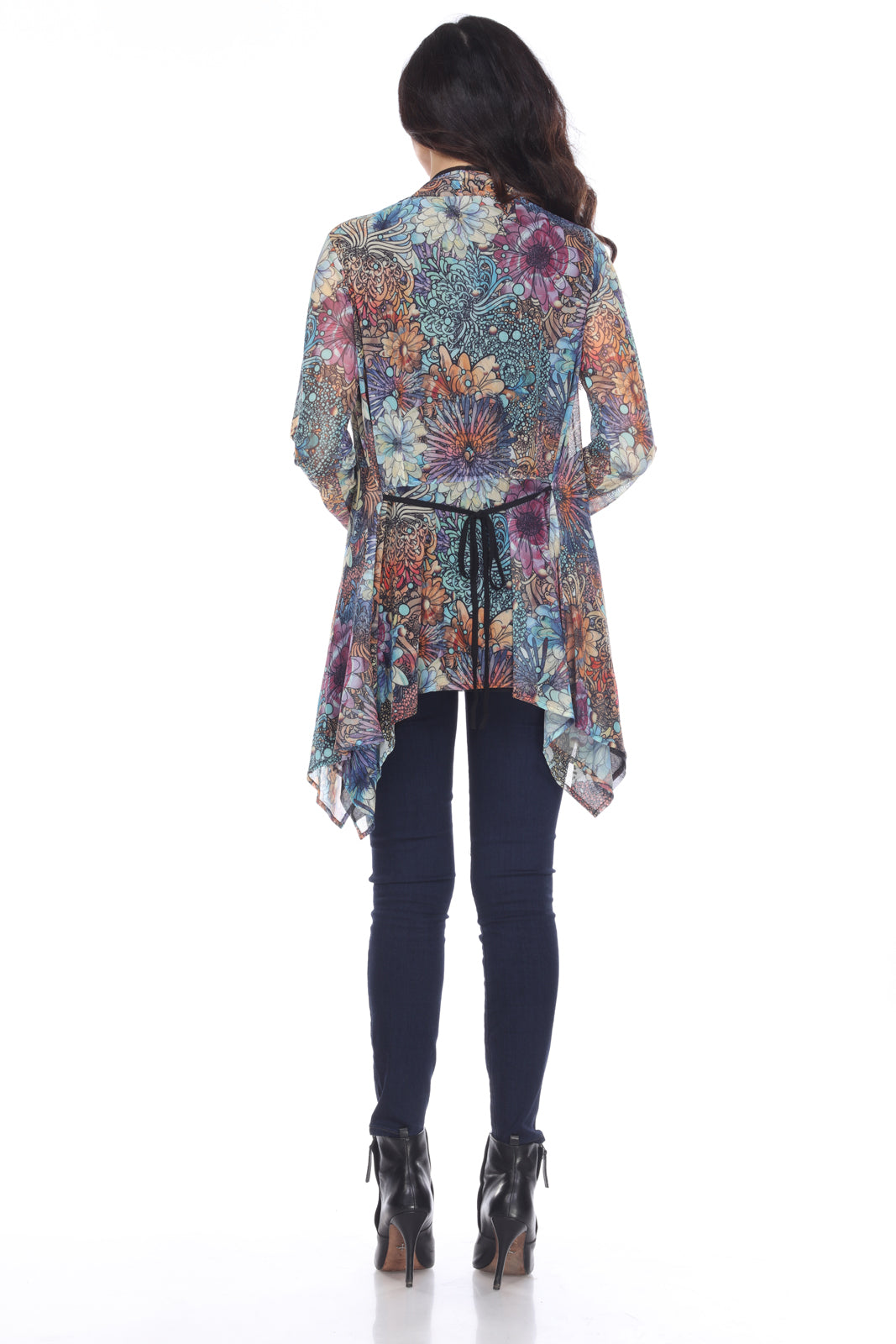 Beautiful Floral Print Jacket - You-nique Bou-tique
