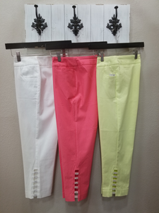 BEST SELLER - Lulu-B Bling Capri's in Swanton - You-nique Bou-tique