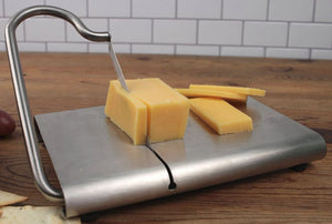 Stainless Steel Modern Cheese Slicer with Stainless Steel Blade