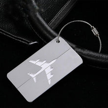 From Bye JoJo, Custom Airplane Logo Suitcase Luggage Tags Identifier Label