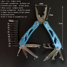 By Industrial TJJ, Outdoor Multitool Pliers Repair Pocket Blade Fold Screwdriver set Hand Multi Tool Mini Folding Pocket Portable Fishing
