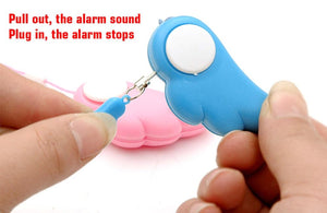 Personal Protection Anti-Attack Panic Safety Security Alarm, Mini Self Defense Emergency Alarm