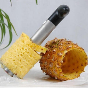 By Chef JoJo, Stainless Steel Pineapple Corer Spiralizer