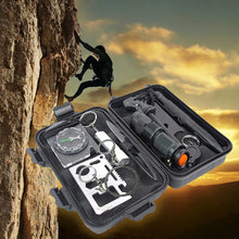 10 in 1 Multi Professional Emergency Survival Kits Outdoor SOS Tools for Traveling Hiking Camping Biking Climbing Hunting