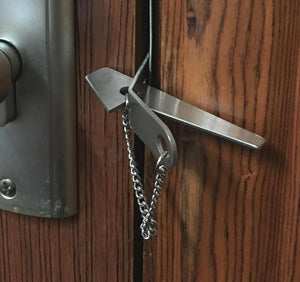 From Bye JoJo, Stainless Travel Door Lock Security Latch Lock for Home or Hotel Security