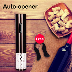 ELECTRIC WINE BOTTLE OPENER (WITH FREE GIFT)