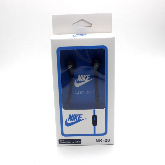 Nike Sports Earphone 3.5mm headset With Microphone NK-28