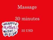 Massage 30 minutes Vaucher