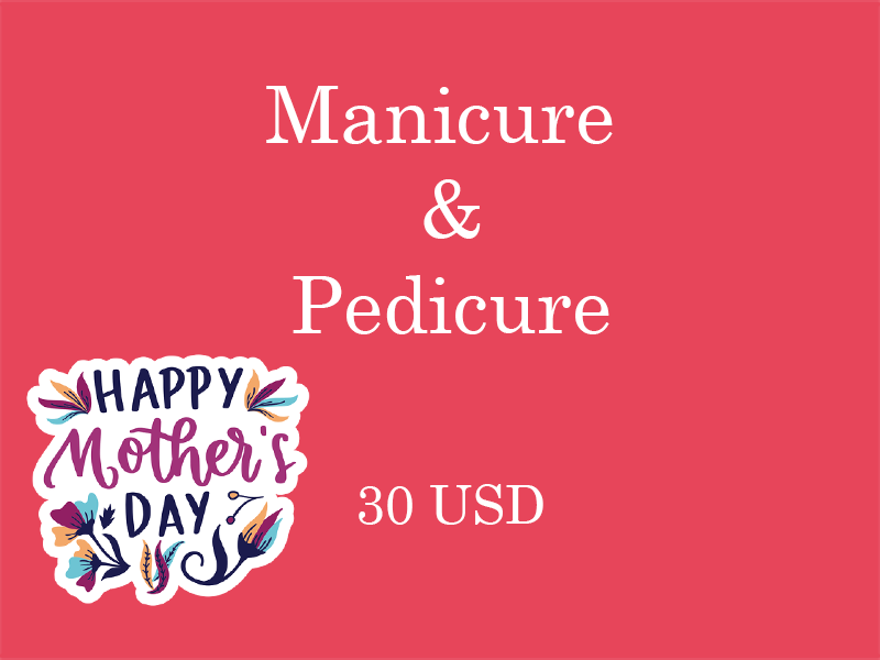 Manicure and pedicure Vaucher