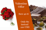 Red Roses And Pitachio Chocolate