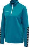 Hmlauthentic Half Zip Sweatshirt Women