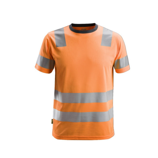 Orange AllroundWork, High-Vis T-shirt, klasse 2