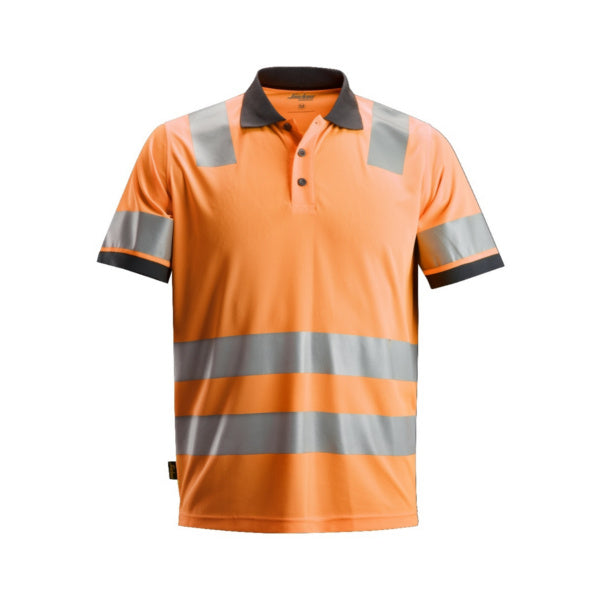 Orange AllroundWork, High-Vis polo shirt, klasse 2