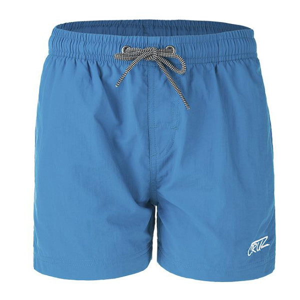 Cruz Eyemouth Basic Shorts Lyseblå