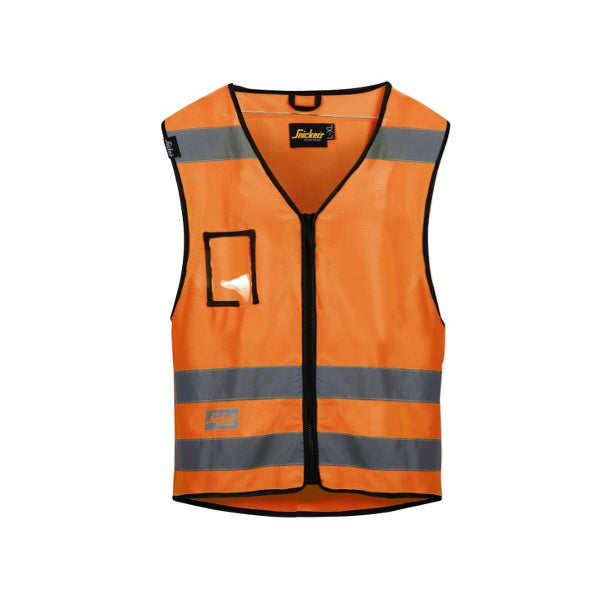 Orange High-Vis vest, klasse 2