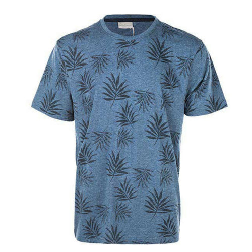 Cruz Jonathan Full-printed SS T-shirt Blå