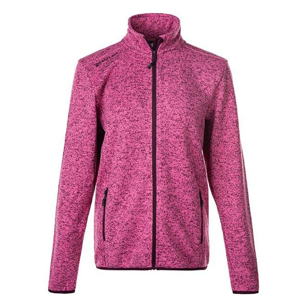 Whistler Maleo W Melange Fleece Jacket Mesa Rosa