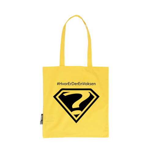 #HvorErDerEnVoksen Shopping bag