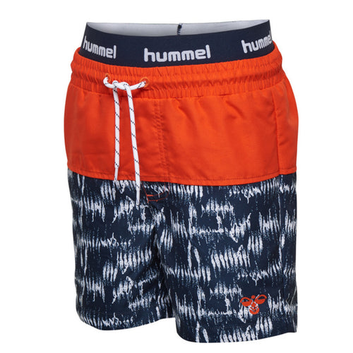 Hummel Spot Board Shorts Salt/Pepper