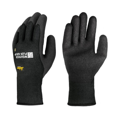 Weather Flex Grip Gloves fra Snickers Workwear