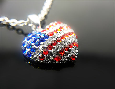 American Pride Necklace - Kigmay Jewelry - New York
