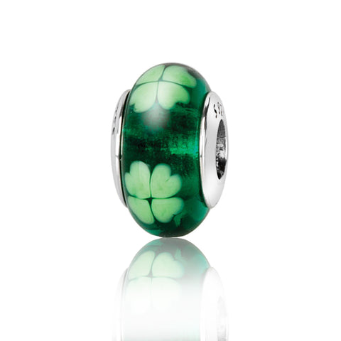 Green Clover Spacer Bead - Kigmay Jewelry - New York
