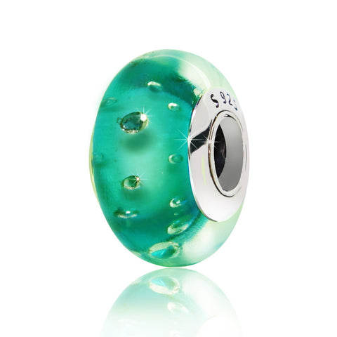 Light Green Spacer Bead - Kigmay Jewelry - New York