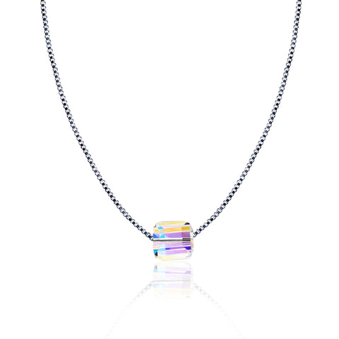 Prism Cube Pendant Necklace - Kigmay Jewelry - New York