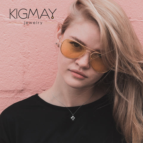 Love Clover Pendant Necklace - Kigmay Jewelry - New York