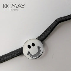 Smiley Face Choker Necklace - Kigmay Jewelry - New York