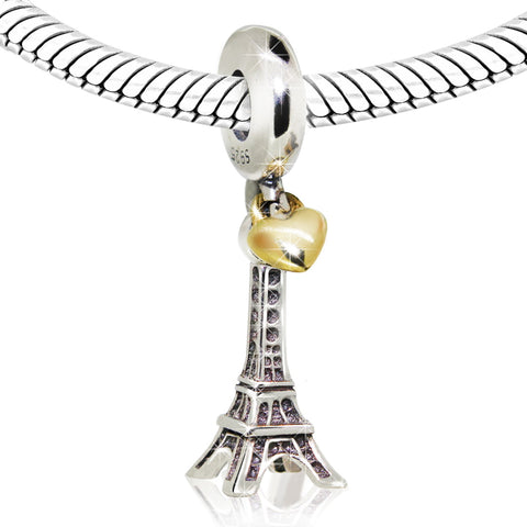 Eiffel Tower Paris Charm - Kigmay Jewelry - New York