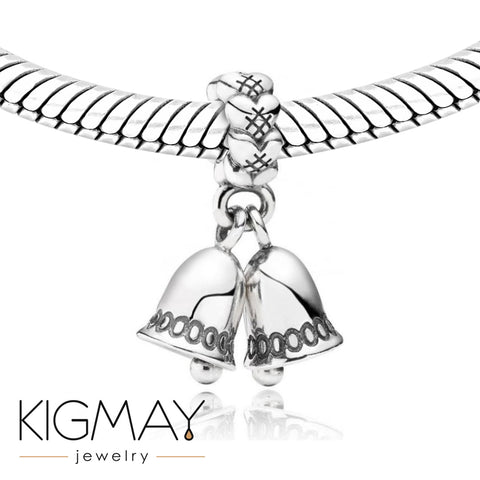 Silver Bells Charm - Kigmay Jewelry - New York