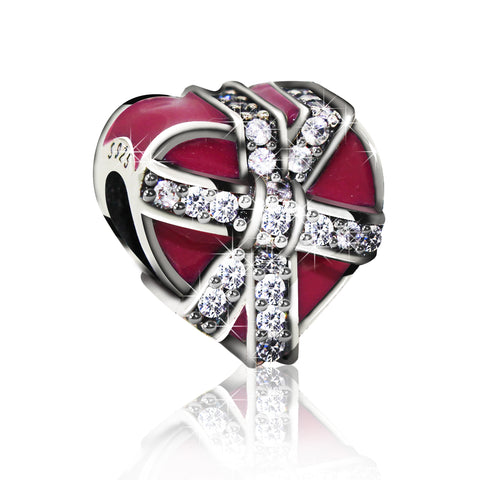 Heart Shaped Box Charm - Kigmay Jewelry - New York
