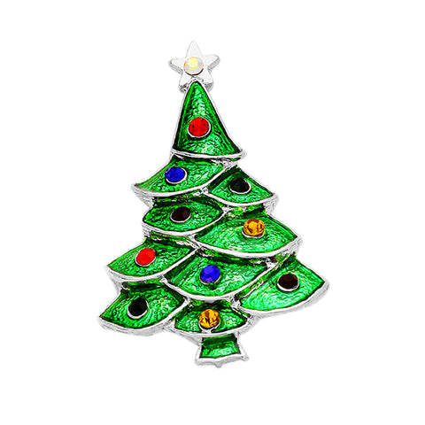 Christmas Tree Pin Brooch - Kigmay Jewelry - New York