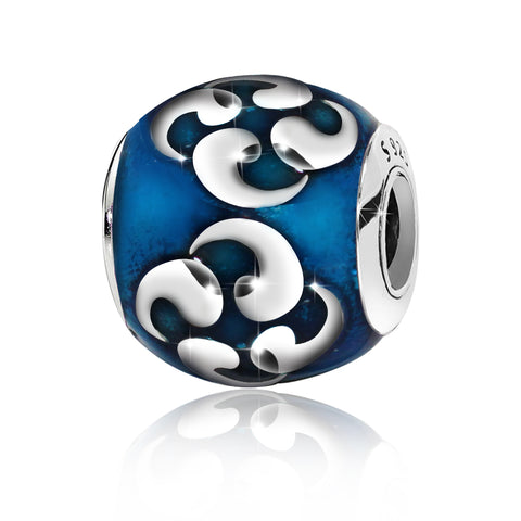 Pandora Teal Celtic Charm blue - Kigmay Jewelry - New York