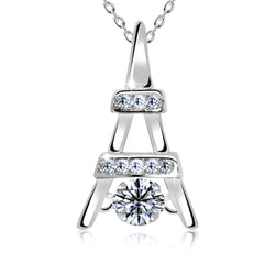 Eiffel Tower Pendant Necklace - Kigmay Jewelry - New York
