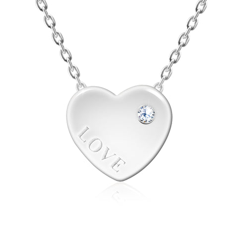 Heart Romantic Pendant Necklace - Kigmay Jewelry - New York