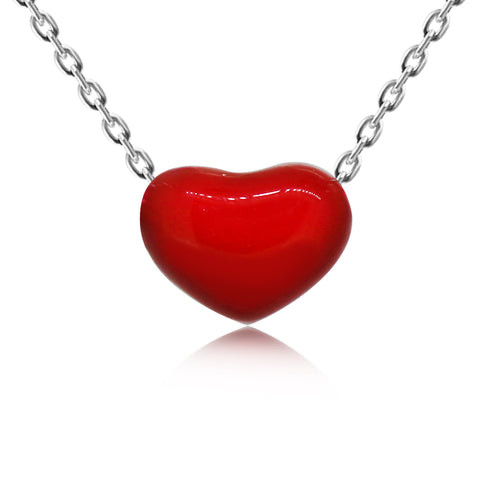 Love Tiny Heart Pendant Necklace - Kigmay Jewelry - New York