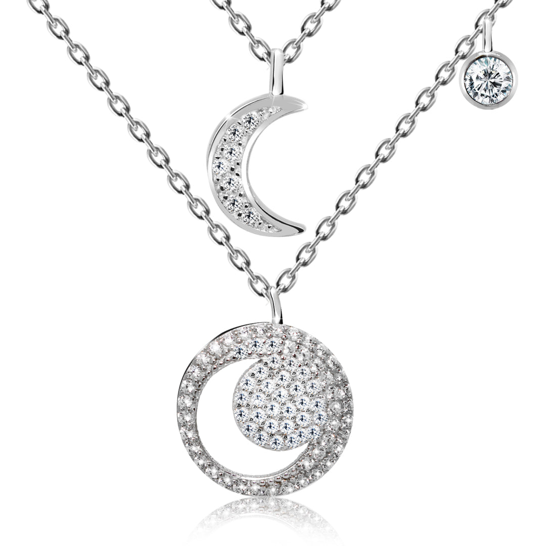Crescent Moon Pendant Necklace - Kigmay Jewelry - New York