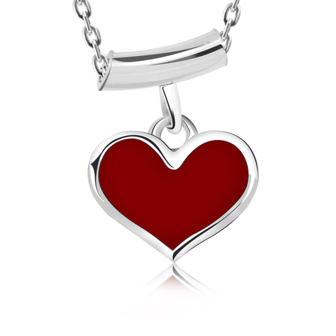 Red Heart Love Pendant Necklace - Kigmay Jewelry - New York